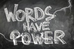 frase palavras têm poder