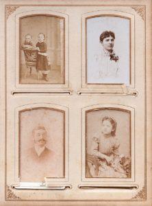 foto antiga de família antepassados