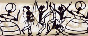 desenho mostrando a cultura brasileira