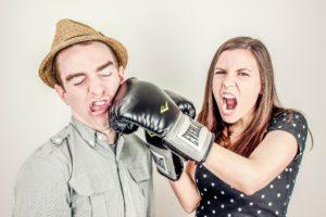 briga entre casal